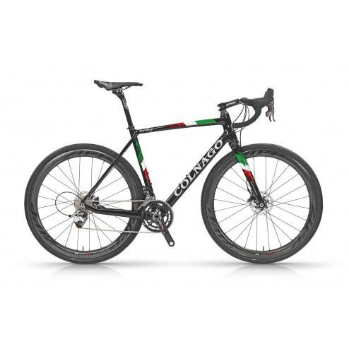 Cyclocross Bike Colnago Prestige Disc with Shimano Ultegra DI2 R8050 hydraulic