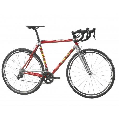 Cyclocross Bike ALAN Super Cross Ergal Design LS2 with SRAM Rival 22