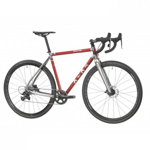 Cyclocross Bike ALAN Super Cross Scandium Design SCS2 with Shimano Ultegra R8000