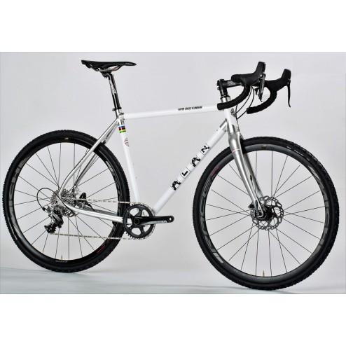 Cyclocross Bike ALAN Super Cross Scandium Design SCS3 with Shimano 105
