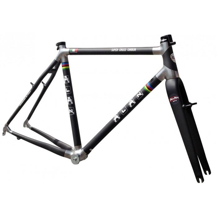 cyclocross frame alan super cross carbon design lnic
