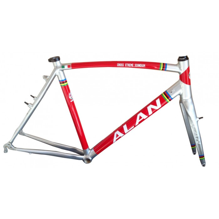 cyclocross frame alan cross xtreme scandium design wcx142