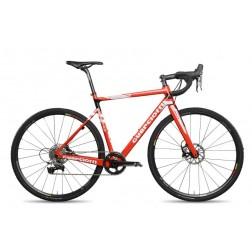 Cyclocross Bike Guerciotti Ereuka CX Design red with SRAM Red eTap hydraulic