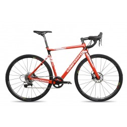 Cyclocross Bike Guerciotti Ereuka CX Design red with SRAM Rival X1 hydraulic
