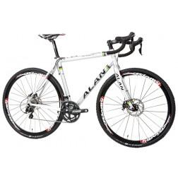 Cyclocross Bike ALAN Cross Mercurial Pro DBS Design WCS140 with Shimano 105