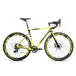 Cyclocross frame Guerciotti Eureka CX Design yellow