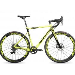 Cyclocross Bike Guerciotti Ereuka CX Design yellow with SRAM Rival X1 hydraulic