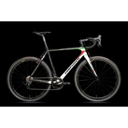 Cyclocross Bike Guerciotti Lembeek Canti Design LE02 Italia with Shimano Ultegra R8000