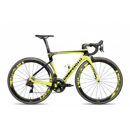 Roadbike Guerciotti Eureka Air Design AI01 with Shimano Ultegra DI2