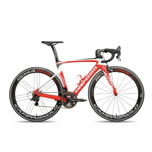 Roadbike Guerciotti Eureka Air Design AI02 with SRAM Force