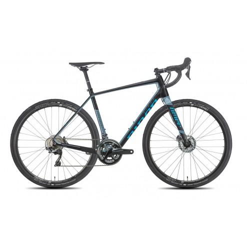 Gravel Bike Niner RLT 9 RDO black/blue with Shimano Ultegra hydraulic