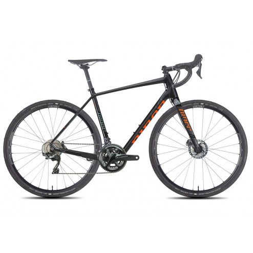 Gravel Bike Niner RLT 9 RDO carbon-orange with Shimano Ultegra hydraulic