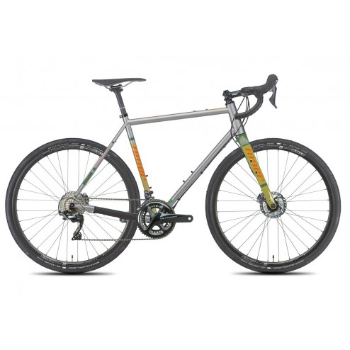 Gravelbike Niner RLT 9 Steel with SRAM Rival 22 hydraulic