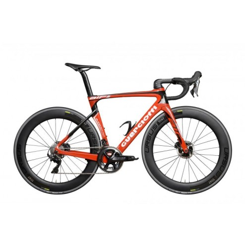 Roadbike Guerciotti Eureka Air Disc Design AI01 with SRAM Force