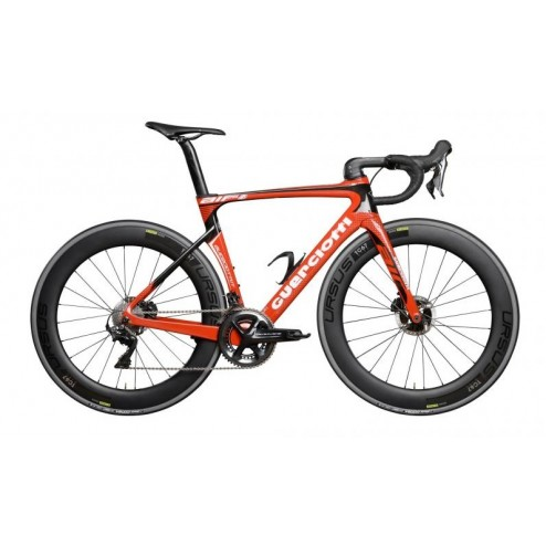 Roadbike Guerciotti Eureka Air Disc Design AI01 with Shimano Ultegra DI2