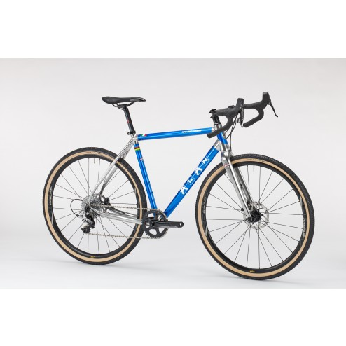 Gravel Bike ALAN Super Gravel Scandium Design SGS3 with SRAM Rival X1 hydraulic