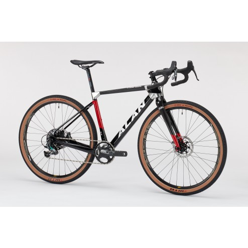 Cyclocross Bike ALAN Xtreme Gravel Design XG3 with SRAM Rival X1 hydraulic