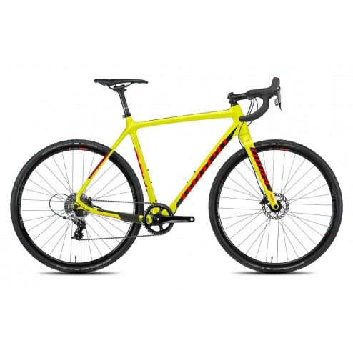 Cyclocross Bike Niner BSB 9 RDO yellow with SRAM RED 22 hydraulic