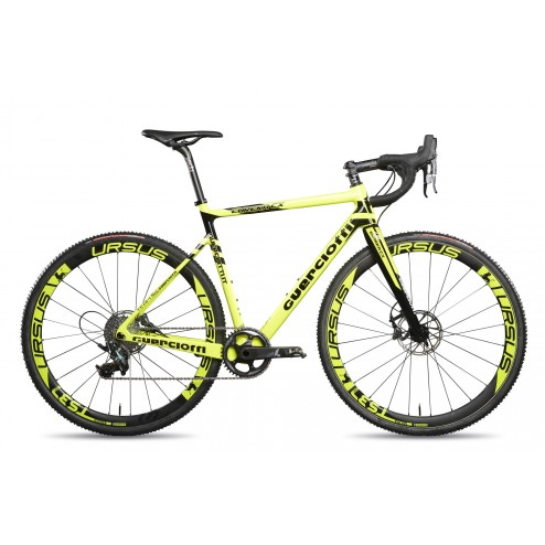 Cyclocross frame Guerciotti Eureka CX Design yellow