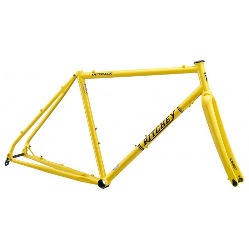 Frame Ritchey Outback yellow