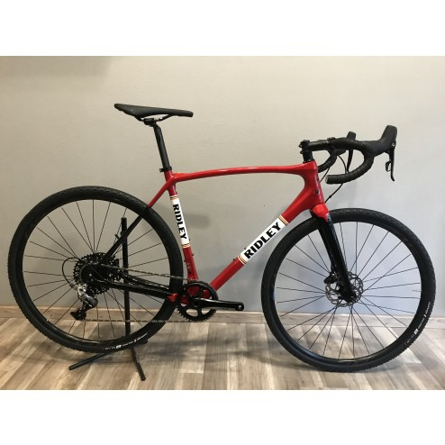 Ridley Kanzo Speed Carbon Design with SRAM Rival 1 hydraulic