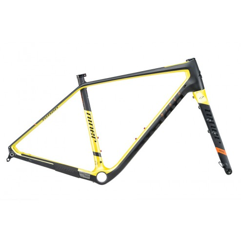 Gravel frame Niner RLT 9 RDO black-yellow