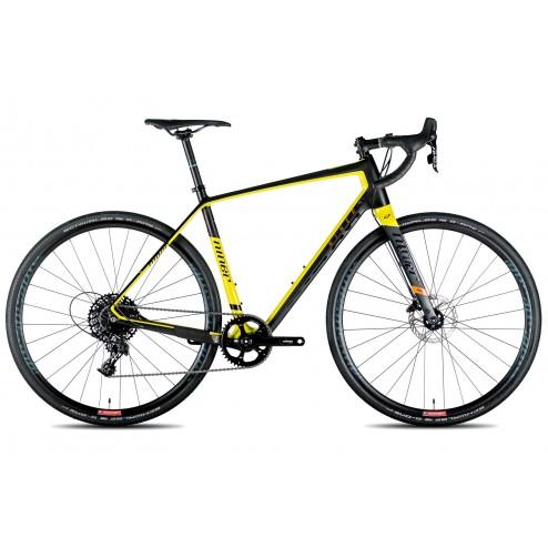 Gravel Bike Niner RLT 9 RDO black/yellow with SRAM Force X1 hydraulic