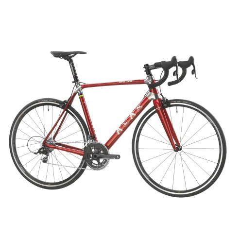 Roadbike ALAN Super Corsa Design S2 with Shimano Ultegra DI2