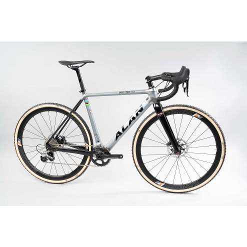 Cyclocross Bike ALAN Super Cross Race Design SCR3 with SRAM Force 1 eTap AXS hydraulic 1x12