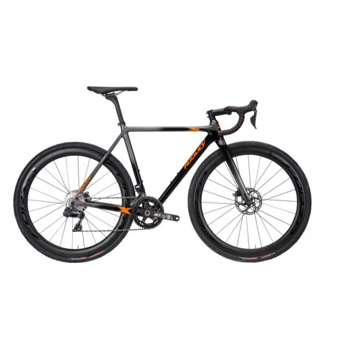 Cyclocross Bike Ridley X-Night SL Disc Design XNI-05AS with Shimano Ultegra DI2 hydraulic - Race