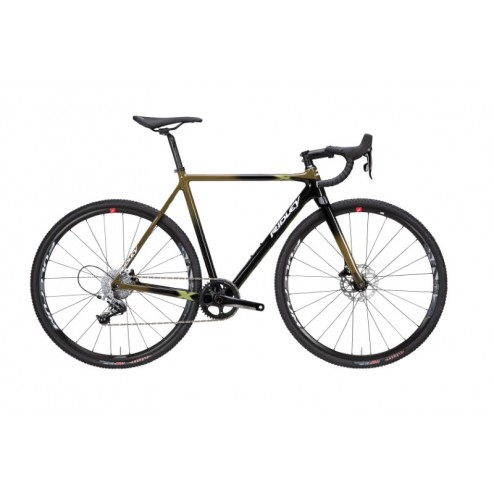 Cyclocross Bike Ridley X-Night Disc Design XNI-06AS with SRAM Rival 1 hydraulic