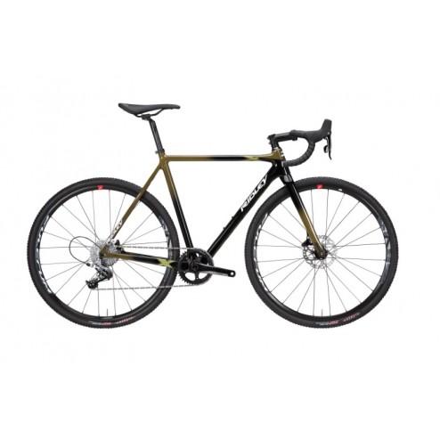 Cyclocross Bike Ridley X-Night Disc Design XNI-06AS with SRAM Force 1 hydraulic