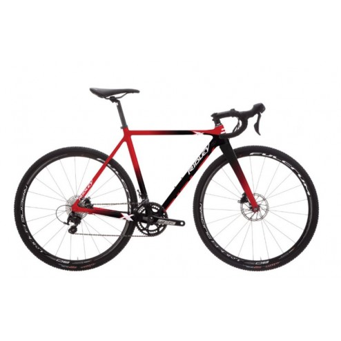 Cyclocross Bike Ridley X-Night Disc Design XNI-06BS with SRAM Force 1 hydraulic