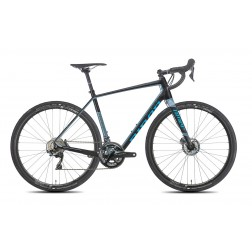 Gravel Bike Niner RLT 9 RDO black/blue with SRAM Rival X1 hydraulic