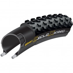 Clincher Continental CycloX-King 35mm