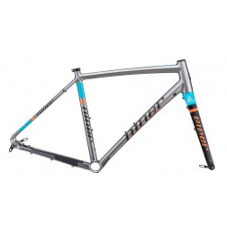 Gravel frame Niner RLT 9 grey-orange-blue