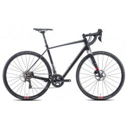 Gravel Bike Niner RLT 9 RDO silver-red with SRAM Rival X1 hydraulic