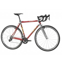 Cyclocross Bike ALAN Super Cross Ergal Design LR2 with SRAM Rival X1