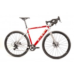 Gravel Bike ALAN Super Gravel Scandium GT Design SGS5 with SRAM Rival X1 hydraulic