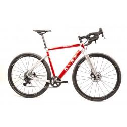 Gravel Bike ALAN Super Gravel Scandium GT Design SGS5 with SRAM Rival X1 hydraulic