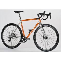Gravel Bike ALAN Super Gravel Scandium Design SGS1 with SRAM Rival X1 hydraulic