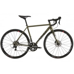 Cyclocross Bike Ridley X-Ride Disc Design XRI 02DM with Shimano 105 hydraulic